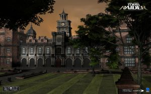 Croft manor rebuilt by SquallLion1