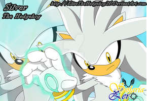 SZ-Silver The Hedgehog wall by EliseTheHedgehog26