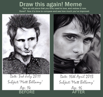 Draw This Again::Matt Bellamy by izziwizVIII
