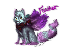 PC  Feather Signature by AgentWhiteHawk
