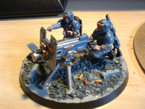 Heavy Bolter Team - Finished 2 by DeviantRye