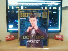 50 Years - Doctor Who - The Doctors by DoctorWhoOne