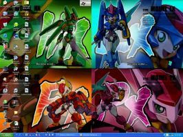 Megaman ZX Desktop by PokeDigiSonic-PDS