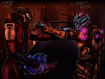 LadyTmerc - Collab- A dangerous misunderstanding by coolhaloboy360