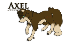 axel commish by Kurohy