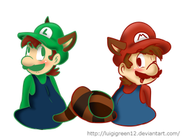 Mario and Luigi by LuigiGreen12