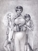 Three Ladies by NorthernPearl