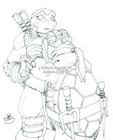 SCRP - :TMNT - So Sorry Leo: by StephRatte