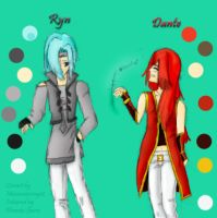 Ryn and Dante for MMS12 by Phoneix-Faerie