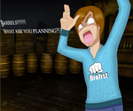 BARRELS!!!!!!!! by ax3lfreak