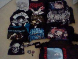 Most of my A7X Stuff by DragonA7X