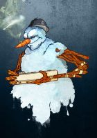 The Snowman Cometh by Joey-Zero