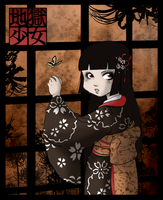 Jigoku Shoujo - Lycoris House by mistressmariko