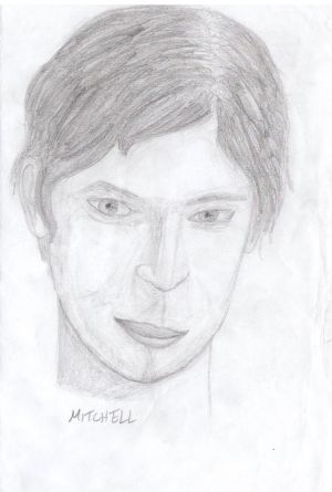 TEW Pencil Sketch: Mitchell