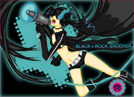 Black Rock Shooter Miku by devilstoy01