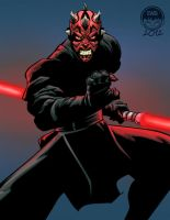 Darth Maul - FC Commission by EryckWebbGraphics