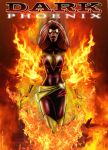 dark phoenix by bluzero8