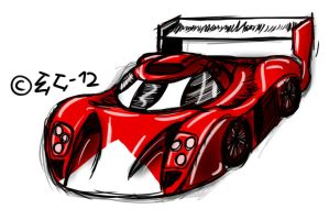 Toyota GT-One by EmotionCreator
