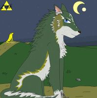 wolf Link colored. by daddysgirl554