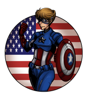 Avengers: Lady Liberty by Cobyfrog