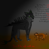 Yes I know I'm a wolf by WendigoEater