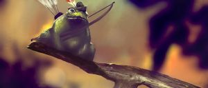 Frog archer by Eaworks
