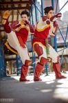 LOK: the Fabulous Bending Brothers by firewolf826