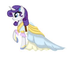 Speedpaint - Rarity in the dress, duh by Dianlie