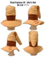Final Fantasy IX - Vivi's Hat by LiliNeko