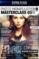 Club and Design Magazine Style Flyer by LouisTwelve-Design