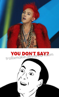 G-Dragon MACRO - You don't say? Ver. 1:. by TrollixMakie
