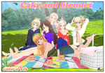 Cake and blondes by AndrewBaker69