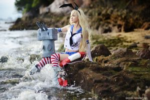 Kantai Collection - Destroyer Shimakaze by vaxzone