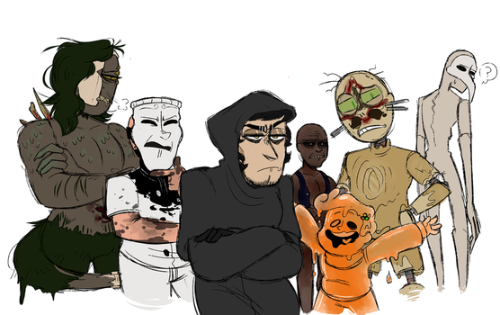 the squad that will kick your ass by mk--doodle