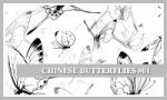 PS7 Brushes: Chinese B-flies by SacredLies