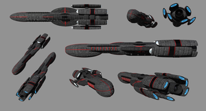 ISF Battlecruiser by madfox43