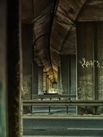 under the viaduct by HeretyczkaA