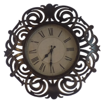 Ornate Clock Cut out by EnchantedWhispersArt
