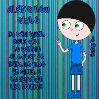 Alan's new style by gaby38
