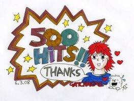 500 HITS by gatchacaz
