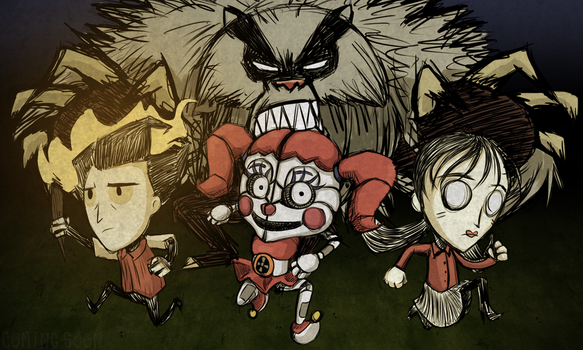 Don't Starve with Baby by SakuraWolfer