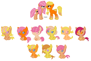 Breedable babies for RushfordA by Dulcet-Adopts