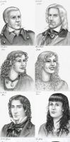 AST Les Mis Portraits by Nyranor