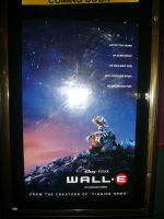 WALL-E MOVIE POSTER by victortky