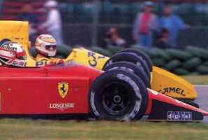 Nigel Mansell | Nelson Piquet (1989) by F1-history