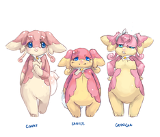 (PMD Personal NPCs) Audino Choir by Zaiats