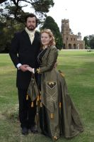 Victorian Couple 19 by Digimaree