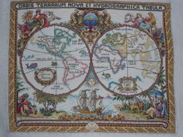 Olde World Map I by carand88