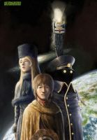 Galaxy Express 999 by lathander1987