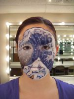 The Great Wave Inspired Makeup by imonfirex727